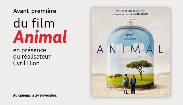 Amiens – Avant-première du film «Animal»