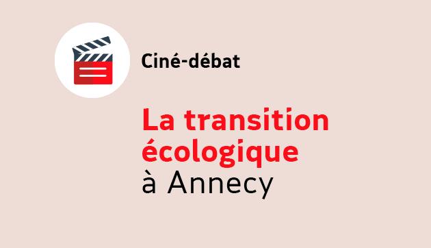 La transition écologique à Annecy