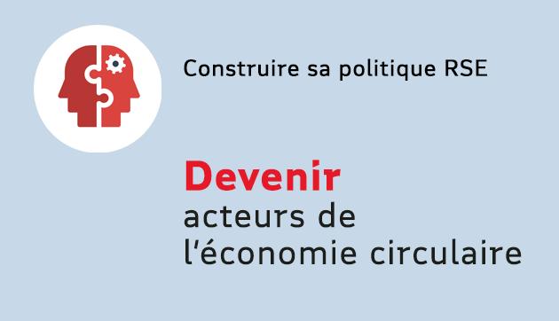 Acteurs de l'économie circulaire – Animation à distance