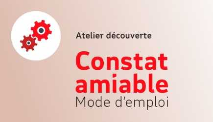 Atelier Constat amiable – Animation à distance