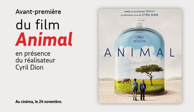 Blagnac – Avant-première du film « Animal »