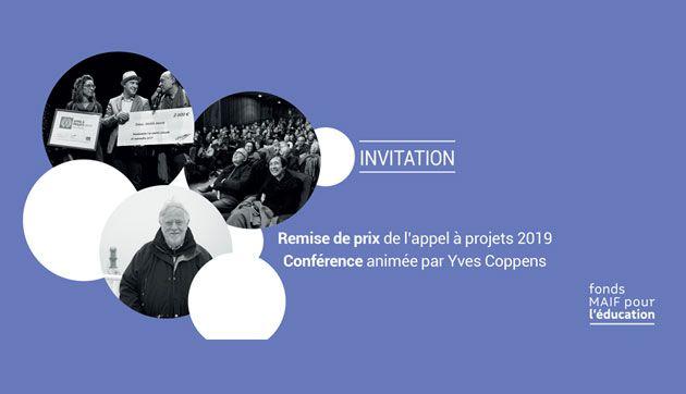 Remise des prix du FME, suivie d'une conférence d'Yves Coppens