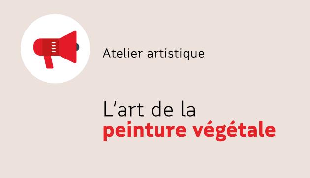 L'art de la peinture végétale