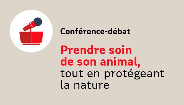 Prendre soin de son animal, tout en protégeant la nature – Evénement à distance