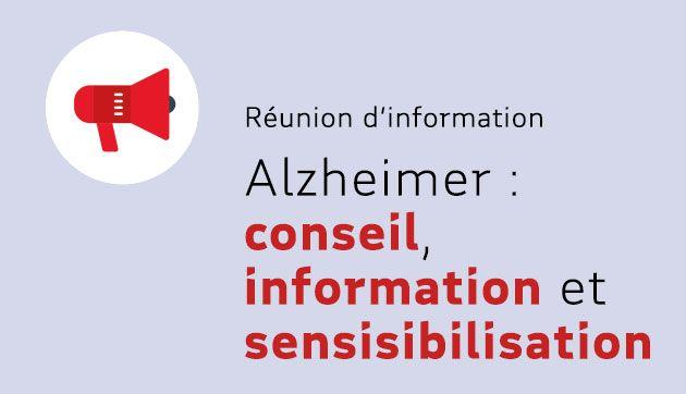 Alzheimer : conseil, écoute, information, sensibilisation