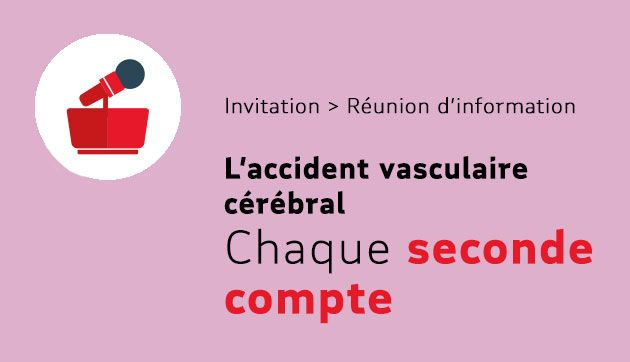 AVC, chaque seconde compte