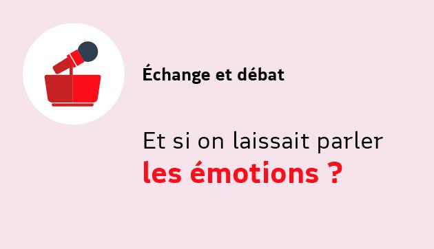 Et si on laissait parler les émotions ? – Evénement à distance